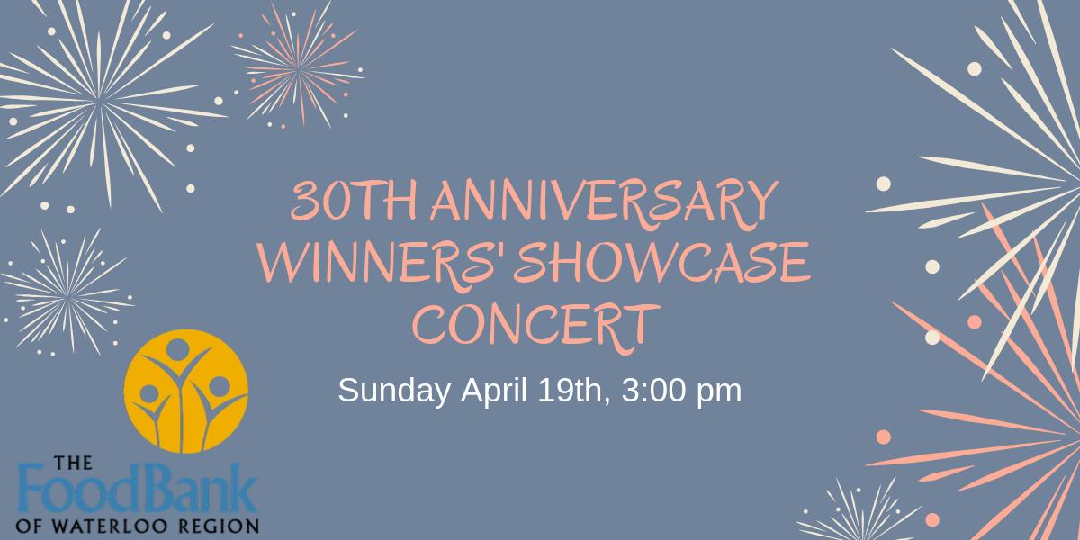 30th anniversary winners' showcase concert